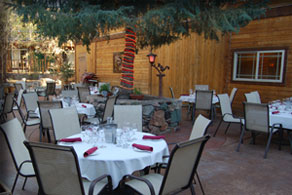 Camelot's Courtyard, Outdoor Dining Patio